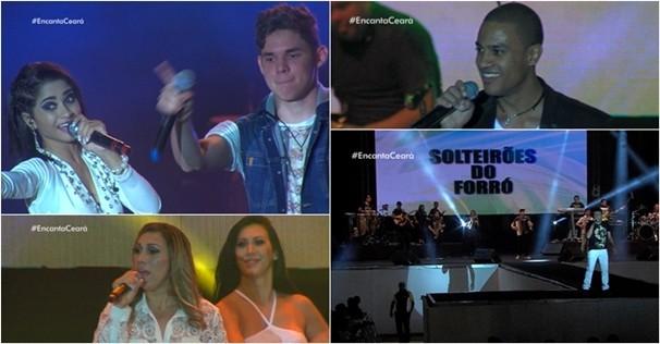 Pelo 4º ano consecutivo, Encanta Ceará reúne grandes nomes da música cearense. (Foto: Reprodução / TV Verdes Mares)