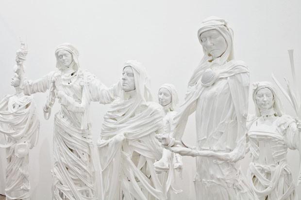 Instalação escultórica Almech, 2011, do polonês Pawel Althamer (Foto: divulgação)