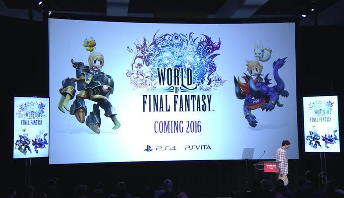 E3 World of Final Fantasy (Foto: Divulgação)