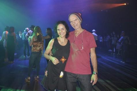Tereza Seiblitz e Chacal  (Foto: Divulgação)