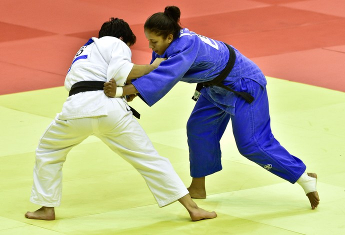 Layana Colman, do judô, nos Jogos Olímpicos da Juventude (Foto: Wander Roberto/Inovafoto/COB)