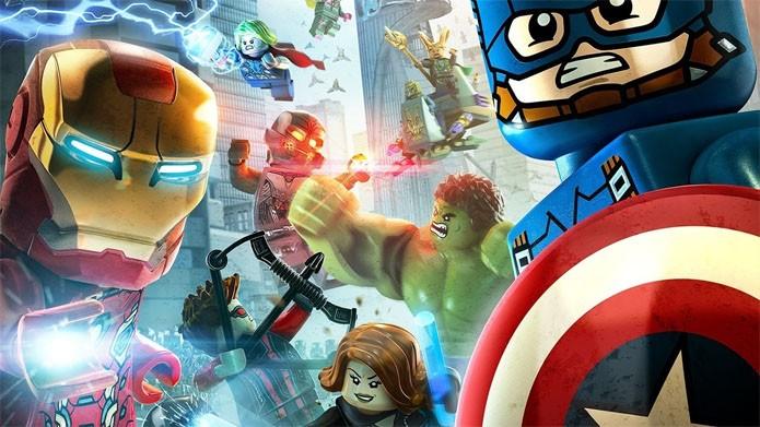 Os Heróis Mais Poderosos da Terra se reúnem mais uma vez nos games (Foto: Divulgação/Warner Games)