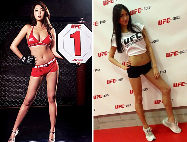 Modelos sur-coreana y japonesa sern las ring girls del 'UFC on FUEL TV 8: Silva vs Stann'