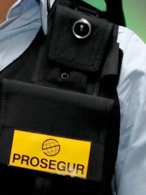 Colete com câmera será usado na segurança do Rock in Rio 2013 (Foto: Divulgação/Prosegur)