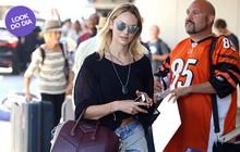 Look do dia: Candice Swanepoel deixa barriguinha à mostra em LA