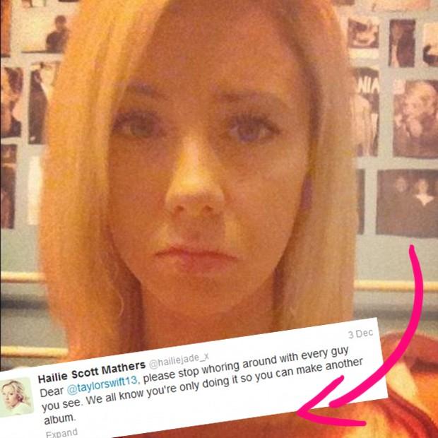Hailie, filha de Eminem (Foto: Reprodução)