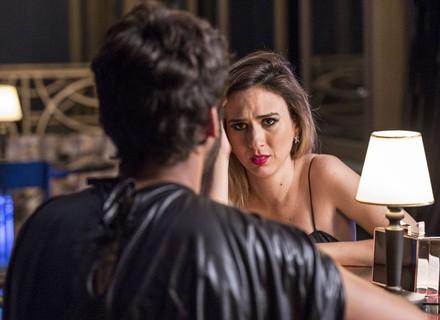 Fedora descobre que dançarino é Leozinho e fica mexida com declaração do ex