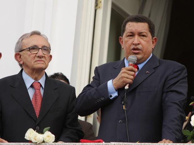 Presidente venezuelano aceitou o convite do então governador do Maranhão, Jackson Lago (Foto: Biaman Prado/O Estado)