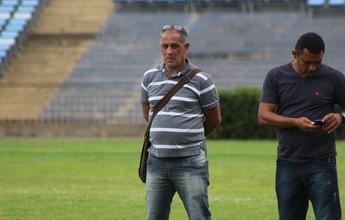 Fabinho não treina, mas Celso Teixeira descarta boatos de saída do atacante