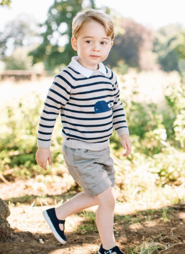Príncipe George (Foto: Reprodução/Facebook)