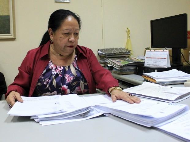 Delegada Catarina Saldanha esteve a frente das investigações sobre mortes na Arena da Amazônia  (Foto: Jamile Alves/G1 AM)