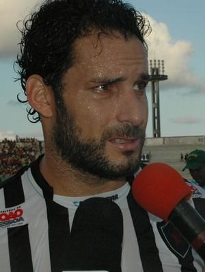Frontini, atacante do Botafogo-PB (Foto: Larissa Keren / Globoesporte.com/pb)