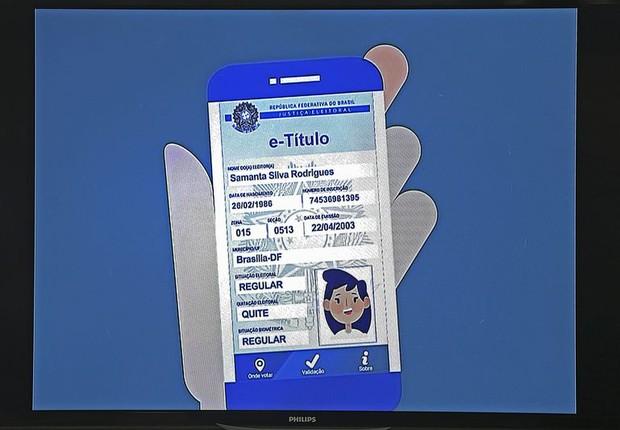 TSE lança o aplicativo Título Eletrônico (Foto: José Cruz/Agência Brasil)