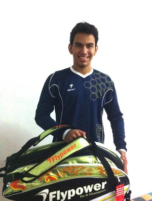 Na Indonésia, Lucas Alves participa do Grand Prix Gold de Badminton