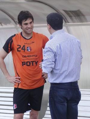 William Augusto - Santa Cruz (Foto: Terni Castro/Globoesporte.com)