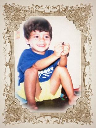 foto criança SCOOBY moldura (Foto: arte esporte)