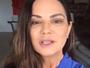 Luiza Brunet faz vídeo e fala sobre Lei Maria da Penha: 'Coragem'