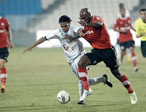 Al Ahli contra o Baniyas (Foto: Divulgação)