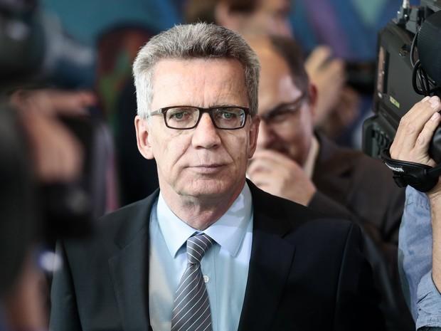 Ministro do Interior da Alemanha, Thomas de Maiziere, alertou para novos ataques de lobos solitários.