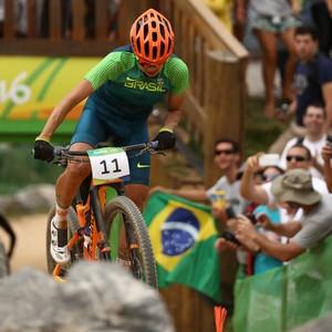 Raiza Goulão chegou em vigésimo lugar na prova (Foto: Bryn Lennon/GettyImages)
