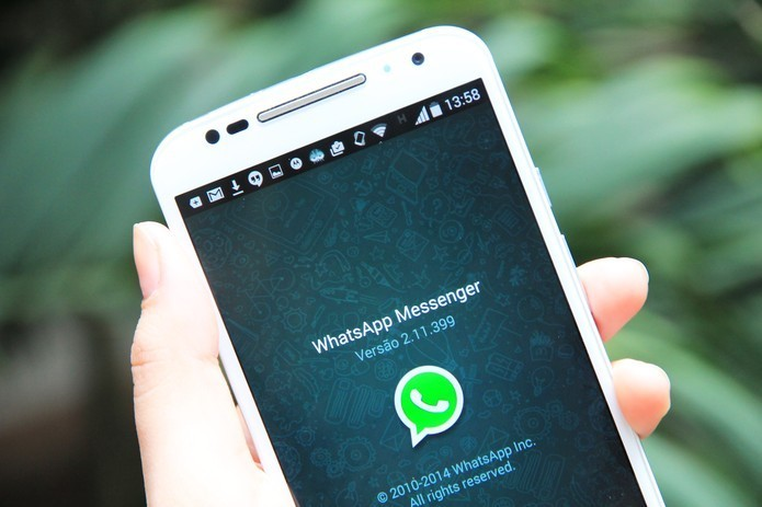 WhatsApp para Android permite retirar notificações pop-up (Foto: Anna Kellen Bull/TechTudo)