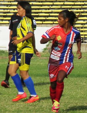Abelhas Rainhas na Copa Piauí de Futebol Feminino (Foto: Josiel Martins )