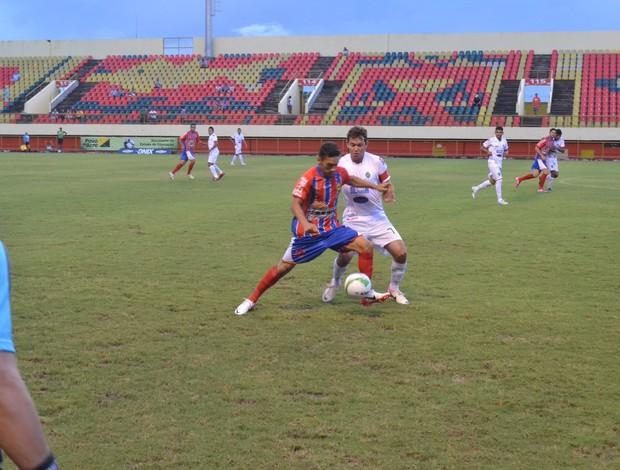 Plácido de Castro derrota Náuas no Campeonato Acreano (Foto: Wescley Camelo)