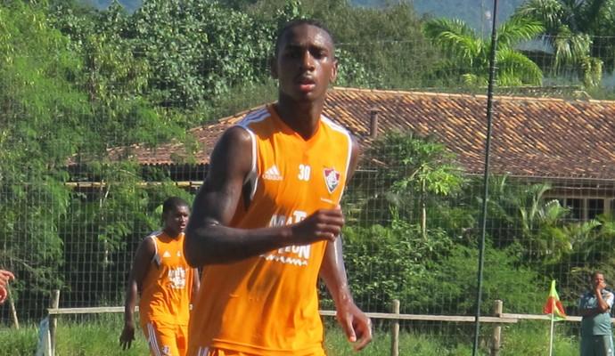 Gerson; Fluminense x São Cristóvão; Mangaratiba (Foto: Richard Souza)