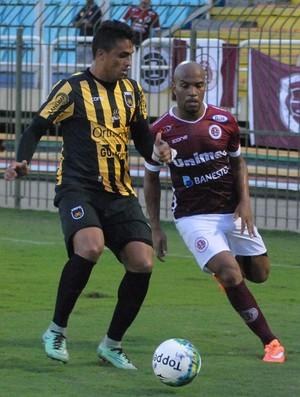 Campeonato Brasileiro Série D 2016: Volta Redonda x Desportiva Ferroviária (Foto: Henrique Montovanelli/Desportiva Ferroviária)