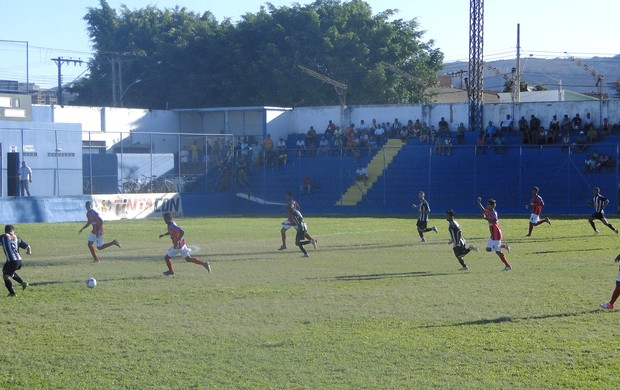 Funorte fez uma partida mais defensiva contra o Galo (Foto: Christiano Jilvan)