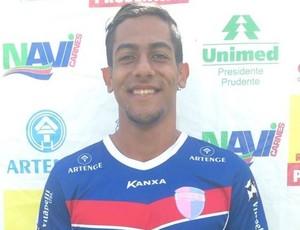 Guilherme Henrique, zagueiro do Grêmio Prudente (Foto: Grêmio Prudente / Divulgação)