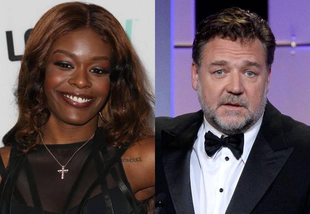 Azealia Banks e Russell Crowe (Foto: Getty Images)