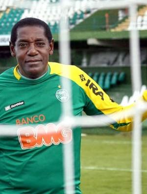 Jairo do Nascimento, ex-goleiro do Coritiba e Corinthians, no Estádio Couto Pereira (Foto: Divulgação / Coritiba)