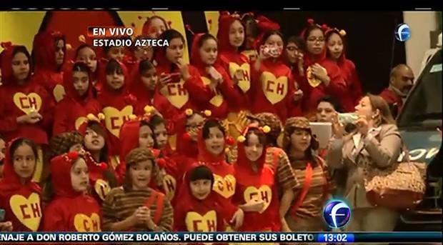 Velório de Roberto Gómez Bolaños (Foto: Reprodução/Televisa - Twitter )