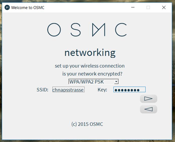 Se quiser configurar o Wi-Fi na instalação, será preciso inserir os dados da rede (Foto: Reprodução/Filipe Garrett)