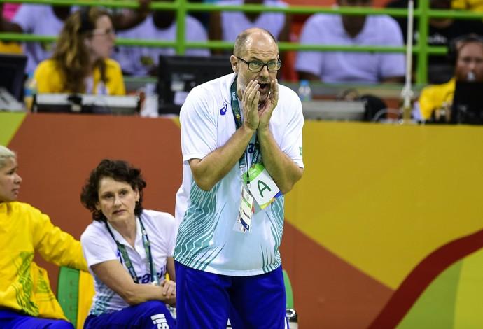 Seleção feminina de handebol, Rio 2016, Olimpíada, Morten Soubak (Foto: Seleção feminina de handebol, Rio 2016, Olimpíada)
