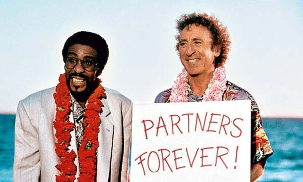 Gene Wilder e Richard Pryor (Foto: .)
