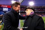 BLOG: Tente não se emocionar: Atlético de Madrid homenageia sócios mais antigos