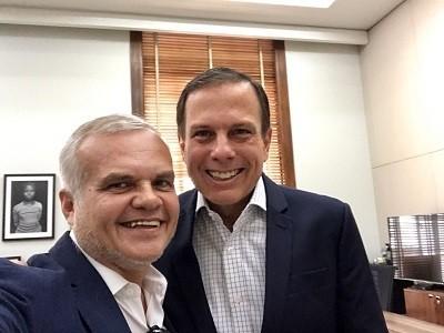 Osmar Santos e João Dória