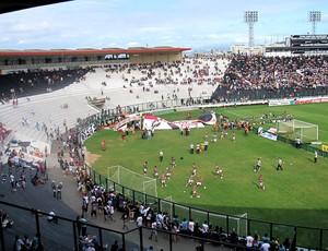 torcida Vasco estádio São Januário jogo (Foto: André Casado / Globoesporte.com)