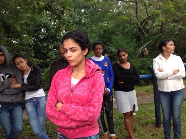 Irmã de Ana Cláudia denunciou suspeito à Polícia Civil (Foto: Guilherme Lucio da Rocha/G1)