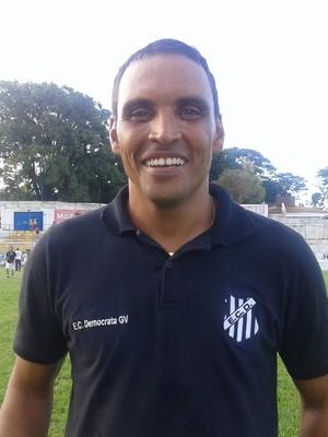 Gilmar Estevam do Democrata GV (Foto:  Cida Santana/Globoesporte.com)