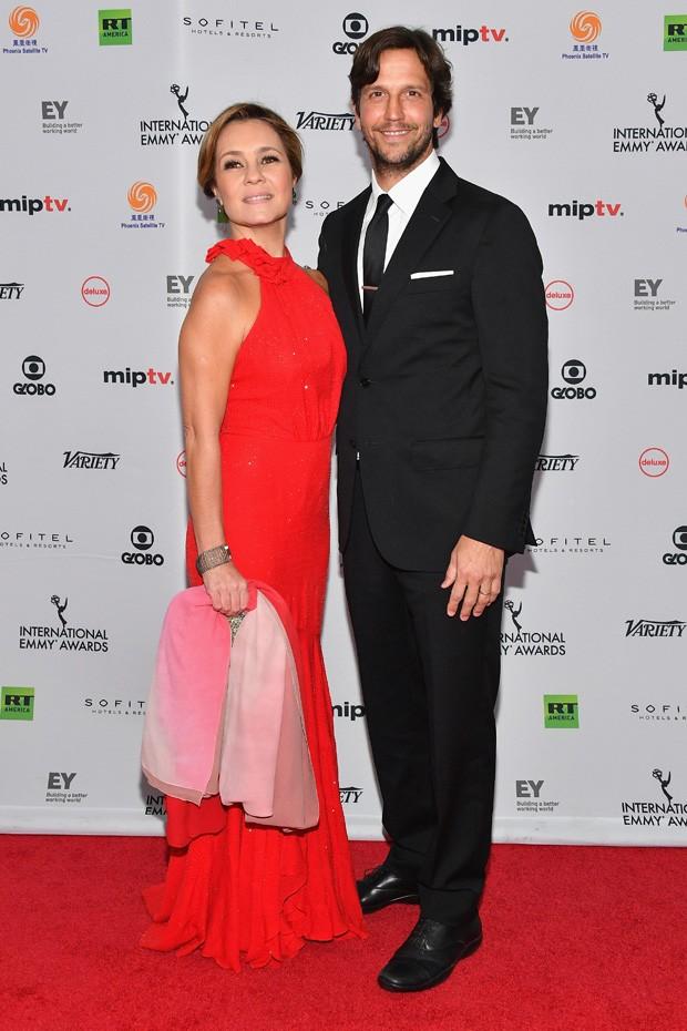 Adriana Esteves e Vladimir Brichta (Foto: Getty Images)