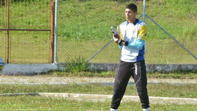Thiago José goleiro Usac (Foto: Bruno Rocha)