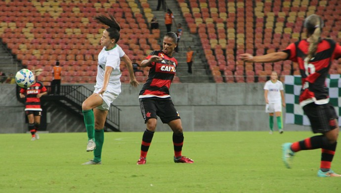 Iranduba x Flamengo (Foto: Gabriel Mansur)