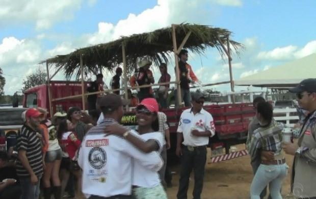 É o quarto ano que acontece a feira em Acrelândia. (Foto: Bom Dia Amazônia)