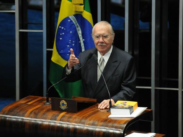 José Sarney (Foto: Fabio Rodrigues Pozzebom/Agência Brasil)