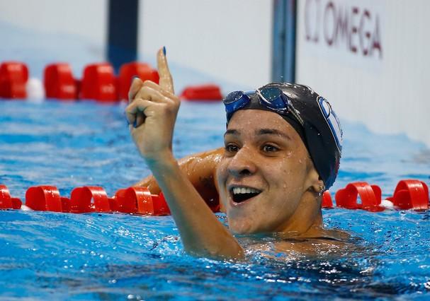 Joanna Maranhão (Foto: GettyImages/Al Bello / Staff)