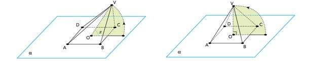 Questão de geometria - rotação do centro O (Foto: Uerj/2014)