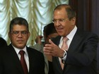 Rússia é contrária à imposição de sanções à Venezuela, diz chanceler